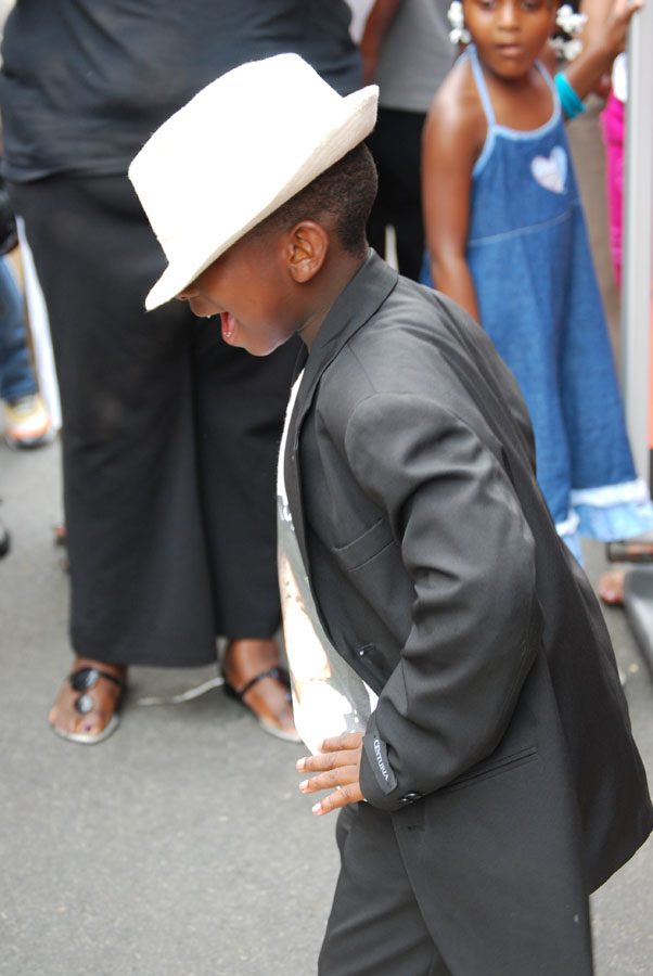 Mini Michael during Harlem Week 2009.